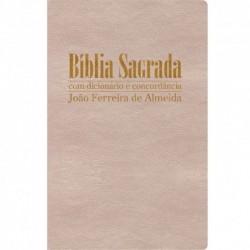 Bíblia de Estudo Aplicação Pessoal Grande - Capa em couro bonded preta