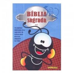 Bíblia Smilingüido NVI - Azul